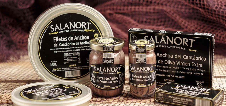 Conservas de Anchoas Salanort