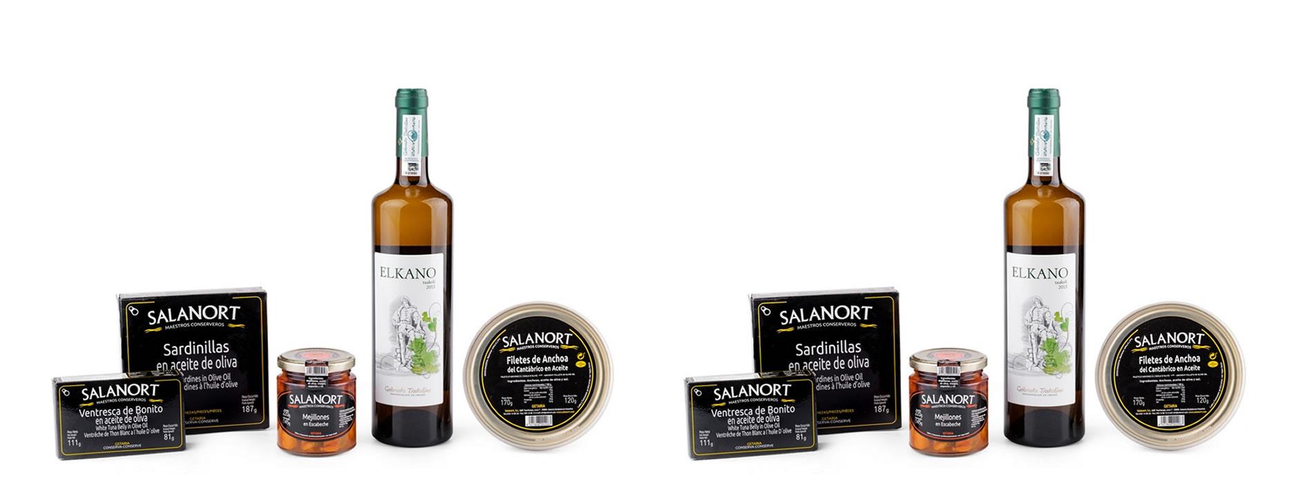 Regalos de navidad pack de regalo Salanort Degustación