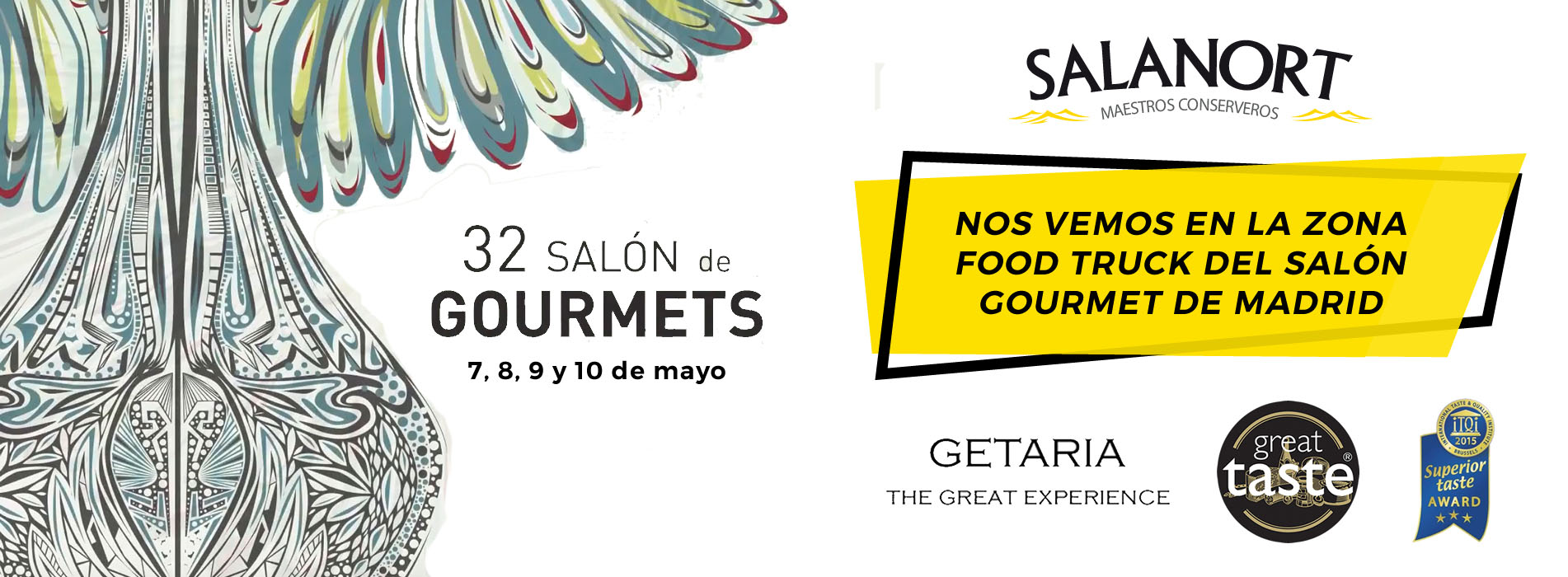 Salanort acudirá al 32º Salón de Gourmets en Madrid, la cita será el 7, 8, 9 y 10 de mayo.