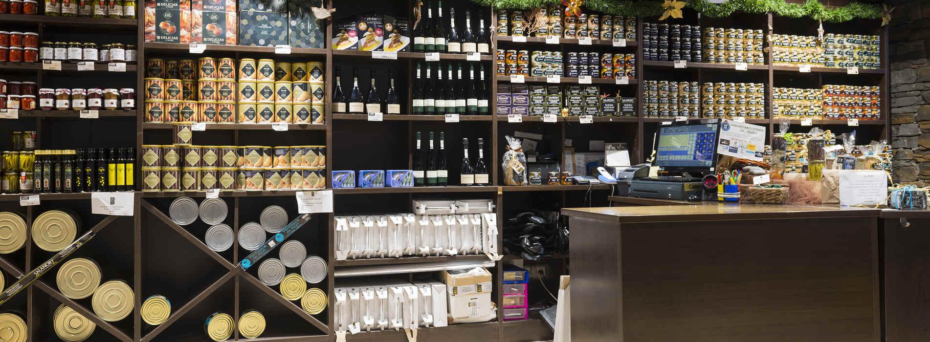 Venta de productos Salanort: pulpo Salanort, anchoa de Getaria Salanort, bonito del Cantábrico Salanort, ventresca de bonito Salanort, conservas Salanort.