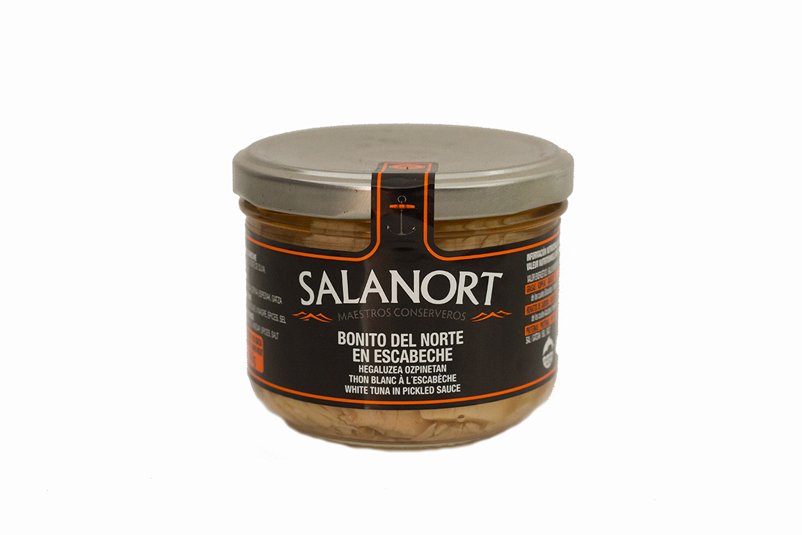 Bonito del norte en escabeche Salanort 230 gr.