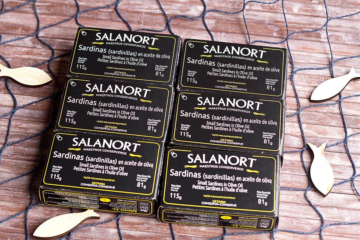 Lote 6 latas de sardinilla en aceite de oliva