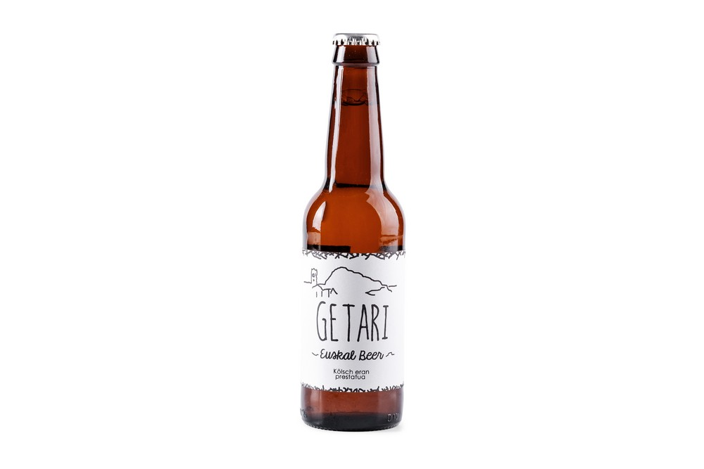 Cerveza artesana Getari Salanort 33 cl.