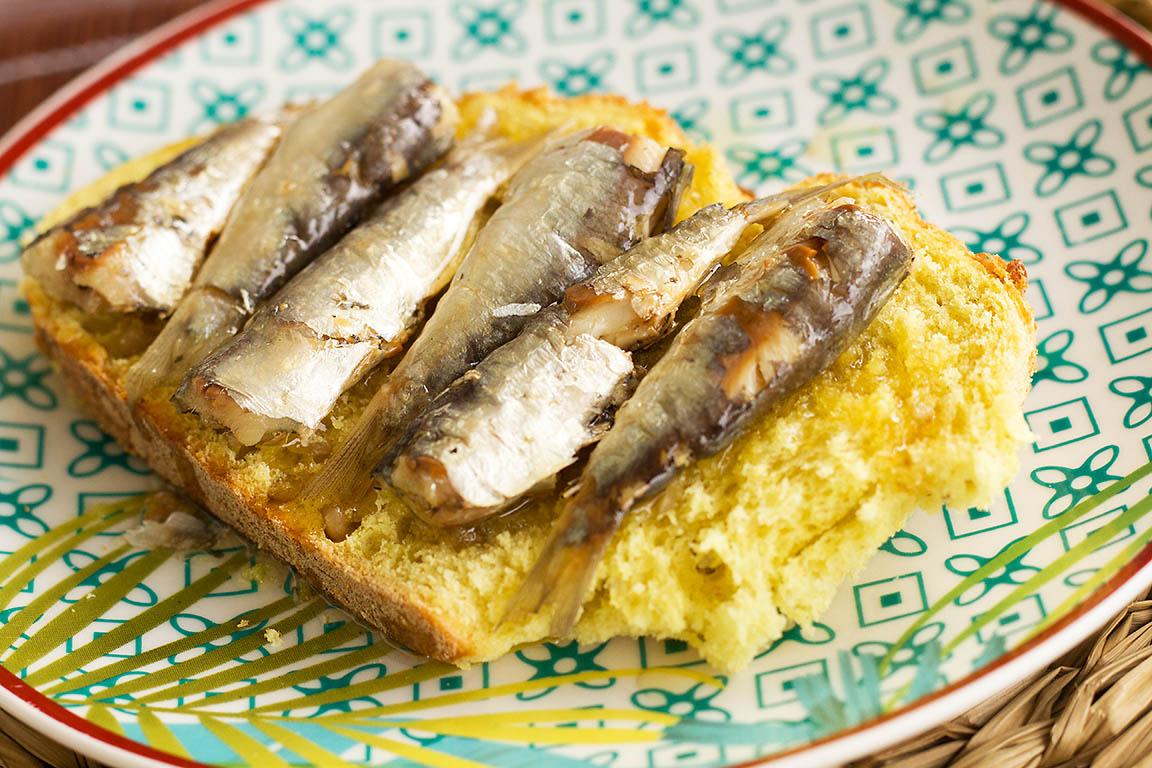 Sardinillas en aceite de oliva Salanort 115g