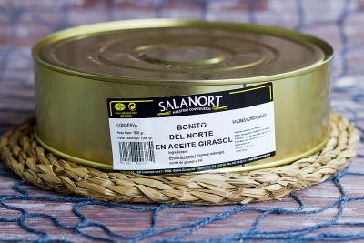 Bonito del Norte Salanort en aceite 1800 gr.