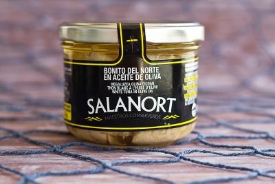 Bonito del Norte Salanort en aceite de oliva 230 gr.