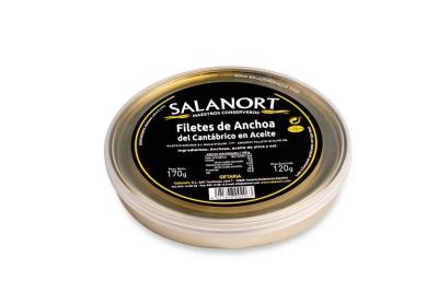 Anchoas del Cantábrico Salanort 170 gr.